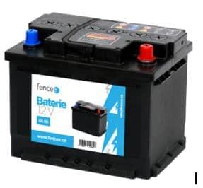Akkumulátor DUO Készülékekhez , 12V 44Ah villanypásztor