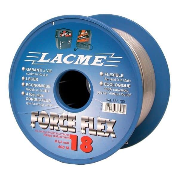 Lacme Forceflex 18 villanypásztor aluminium huzal