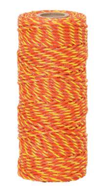 Vezeték 2 mm, sárga-narancs villanypásztor