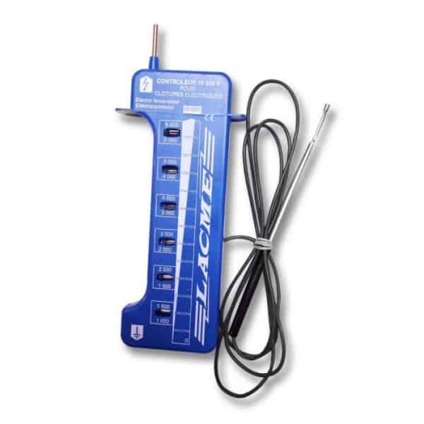 Villanypásztor Neon voltmérő CONTROLEUR 6KV