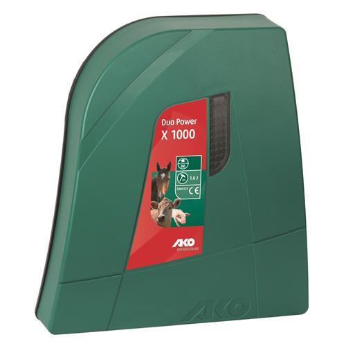 AKO Duo Power X1000 Villanypásztor Készülék 1 J