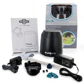 Vezeték nélküli elektromos láthatatlan kerítés PetSafe® Stay + Play