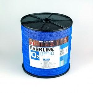 Farmline optic2 villanypásztor szalag 400m