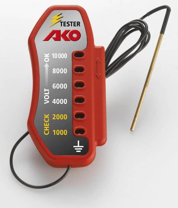 AKO Villanypásztor LED voltmérő 10KV-ig