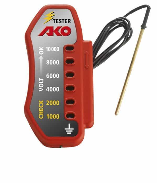 AKO Villanypásztor LED voltmérő 10KV-ig_